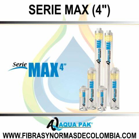 "SERIE MAX (4"")"